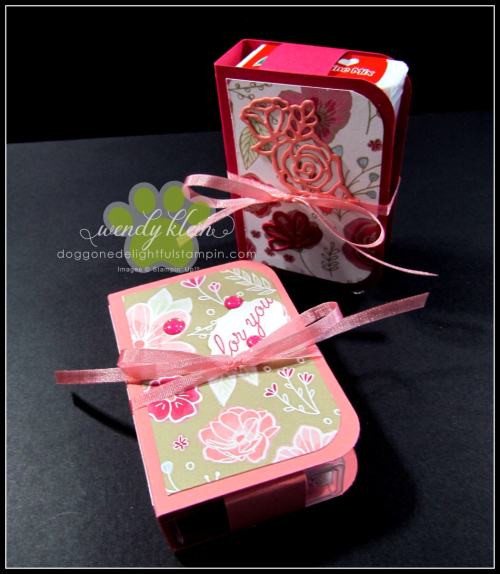 Tic Tac Gift Booklet Tutorial - 7