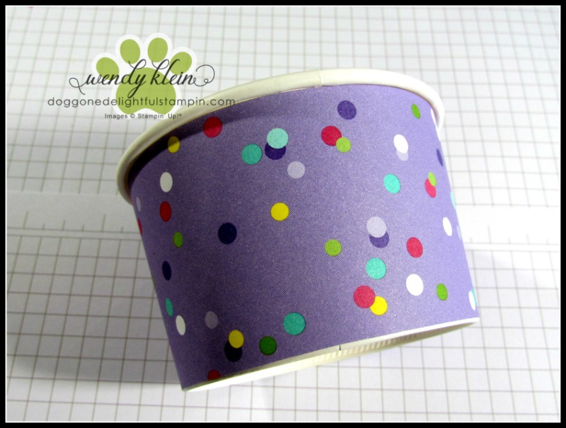 How to cover Sweet Treat Cups - 5