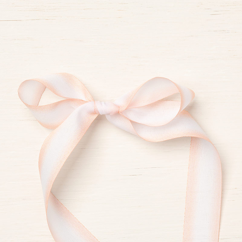 Petal Pink_Whisper White ribbon