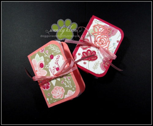 Tic Tac Gift Booklet Tutorial - 6