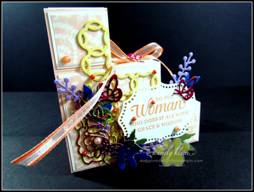 Stair_Step_Card with Rose Trellis Thinlits  Strong & Beautiful - 1