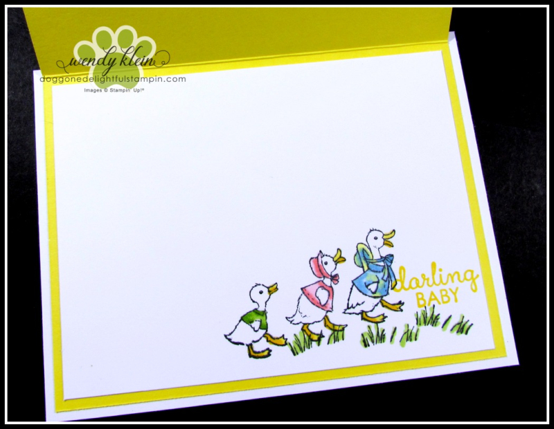 Fable Friends  Gingham Gala  Flip Card - 3