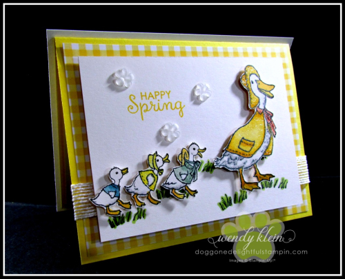 Fable Friends  Gingham Gala  Flip Card - 4