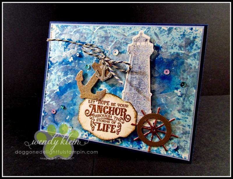 Sailing Home  Smooth Sailing Dies  High Seas 3D Embossing Folder  Sail Away Trinkets - 6
