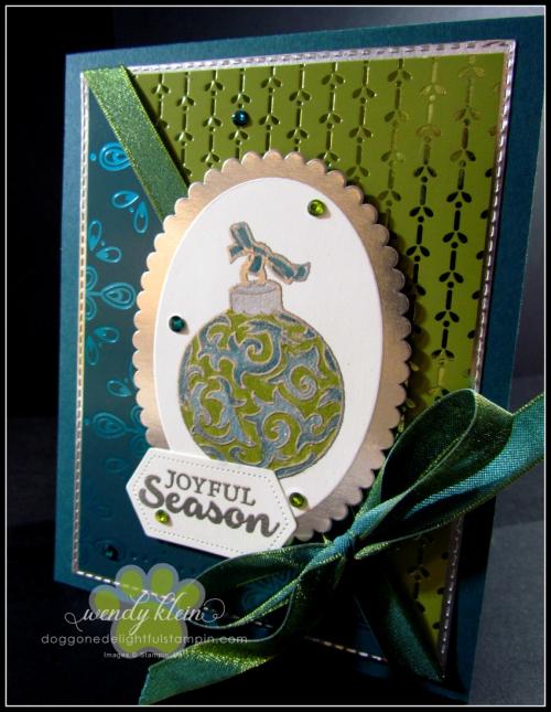 Lots of Cheer  Noble Peacock SDSP - 2