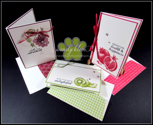 Slice of Happiness Notecards - 1