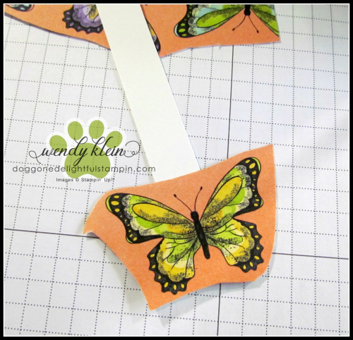 Botanical Butterfly DSP  Butterfly Duet Punch  DSP Showcase Z-Fold card - 3