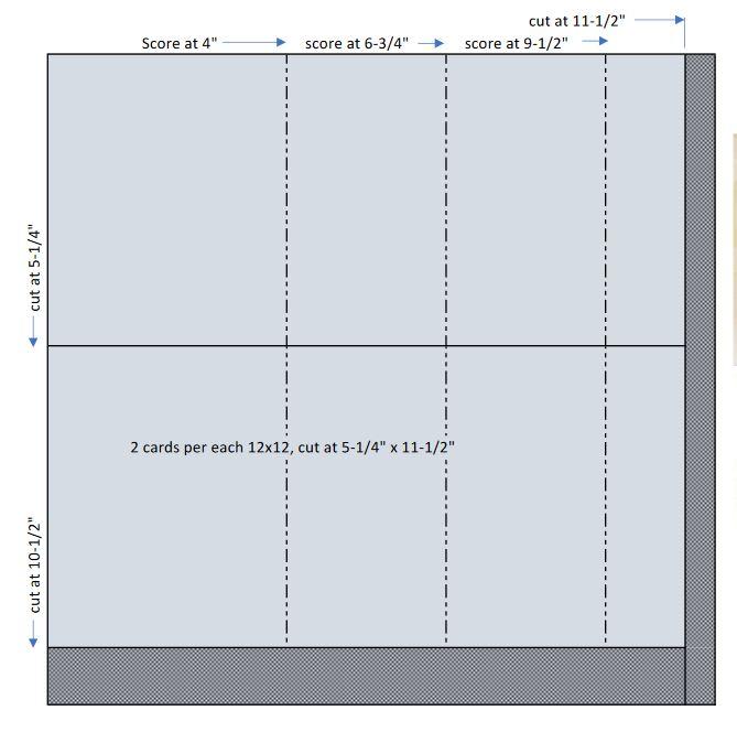 DSP Z-Fold cut guide