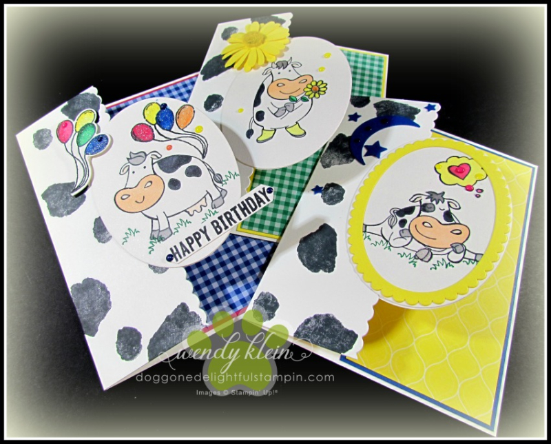 Over the Moon  Love What You Do  Daisy Lane  Ride With Me  In Color - Card Collection - 2