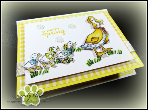 Fable Friends  Gingham Gala  Flip Card - 5