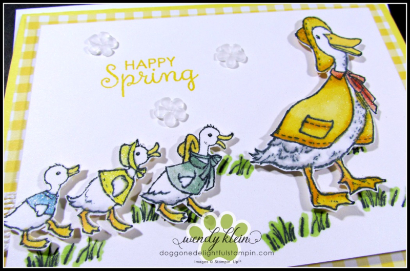 Fable Friends  Gingham Gala  Flip Card - 2