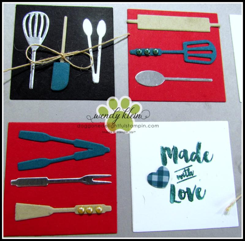 Apron of Love  Apron Builder Framelits  Artisan Pearls  Twine - 3