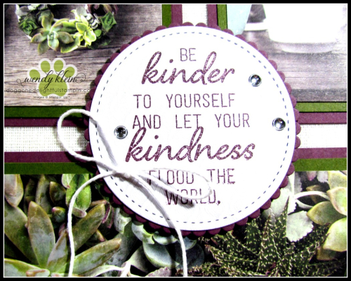 Grown With Kindness Shadow Box Alternative - 4