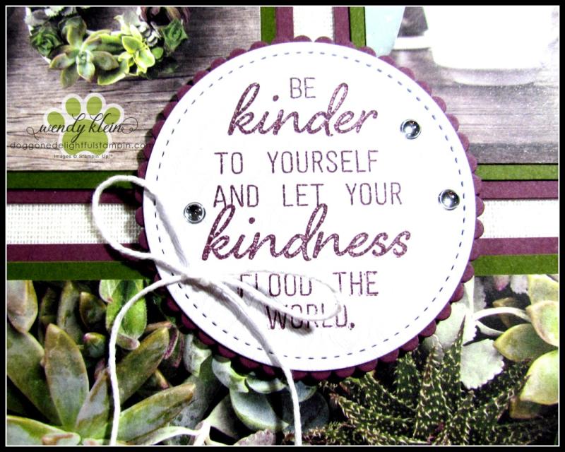 Grown With Kindness Shadow Box Alternative - 4