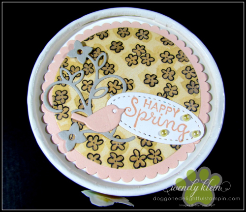 Easter Sweet Treat Cup  Share What You Love Spec DSP  Stampin Blends  Layering Circle Framelits  Artisan Pearls - 4