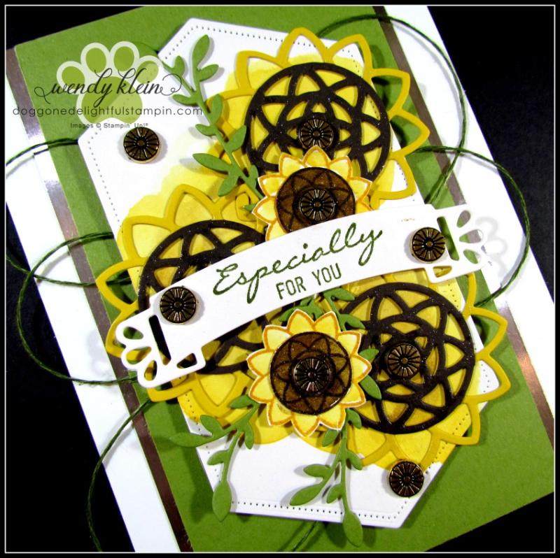 Botanical Bliss Sunflowers - 2