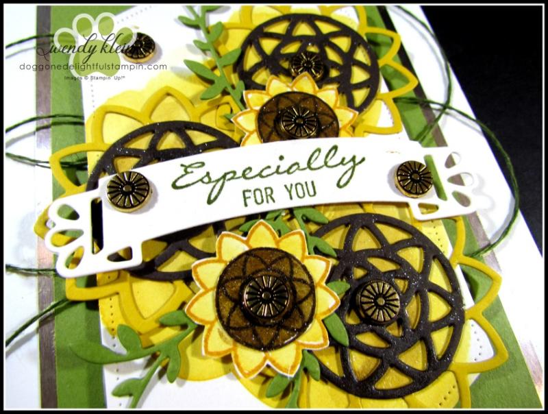 Botanical Bliss Sunflowers - 3