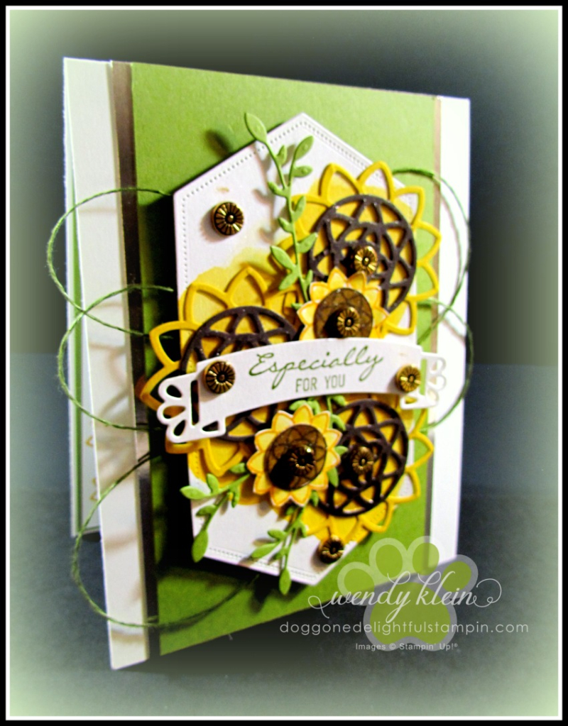 Botanical Bliss Sunflowers - 4