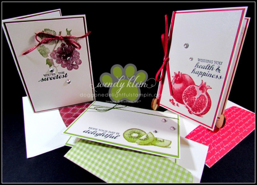 Slice of Happiness Notecards - 2