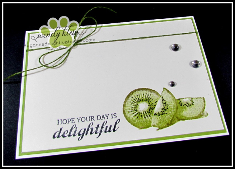 Slice of Happiness Notecards - 6
