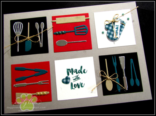Apron of Love  Apron Builder Framelits  Artisan Pearls  Twine - 2