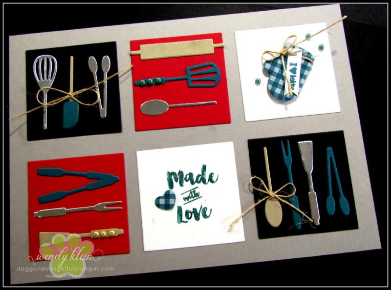 Apron of Love  Apron Builder Framelits  Artisan Pearls  Twine - 2