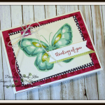 Beautiful Day  Stampin' Blends  Birthday Mini Binder Clips  Silver Baker's Twine  Lemon Lime Twist Mini Striped Ribbon - 3