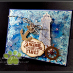 Sailing Home  Smooth Sailing Dies  High Seas 3D Embossing Folder  Sail Away Trinkets - 6