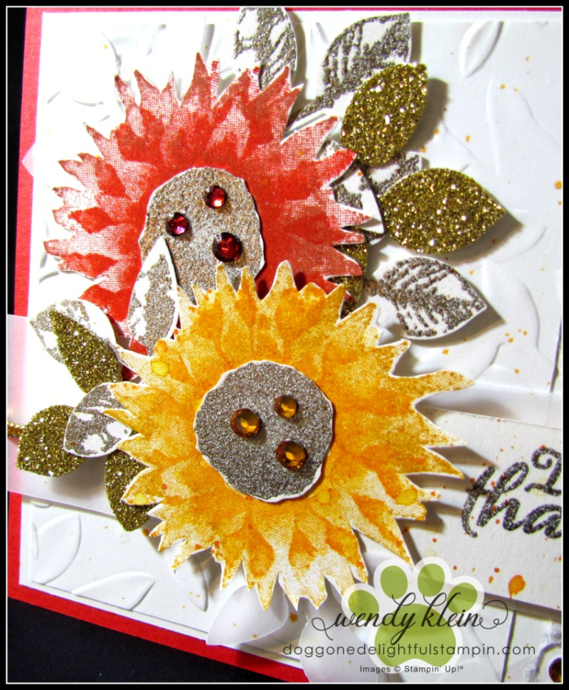 Painted Harvest Sunflowers - 3