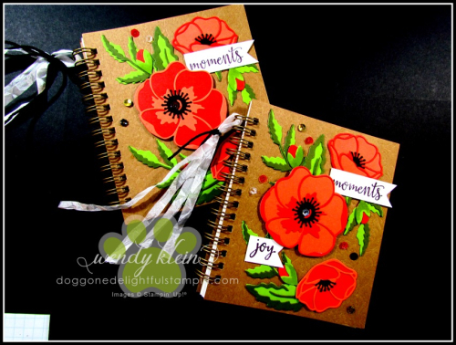 Peaceful Poppies Journal-2