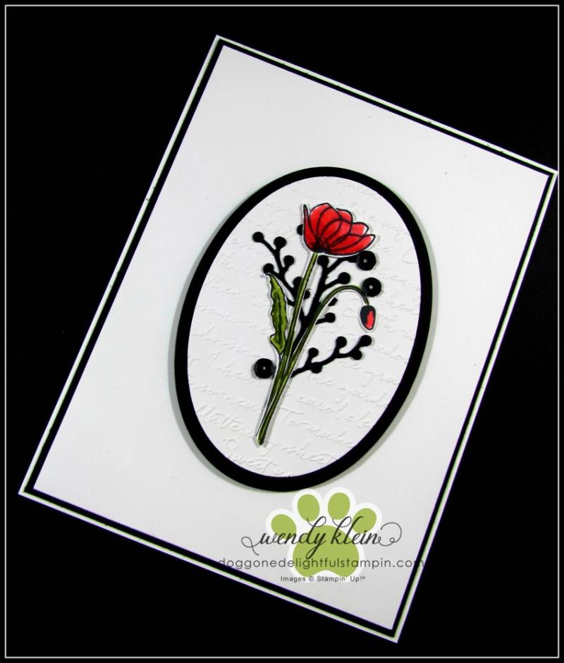 Elegant Peaceful Poppies-2