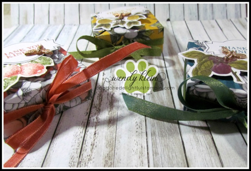 Botanical Prints Diagonal-Lidded Box - 2