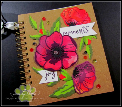 Peaceful Poppies Journal-5