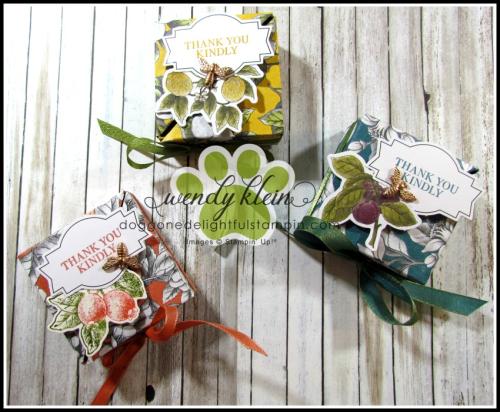 Botanical Prints Diagonal-Lidded Box - 1