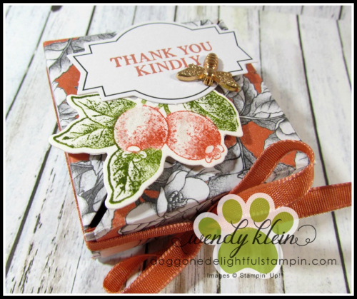 Botanical Prints Diagonal-Lidded Box - 3