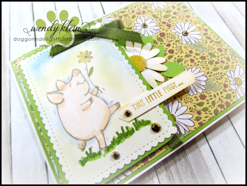 This Little Piggy with Ornate Garden-2