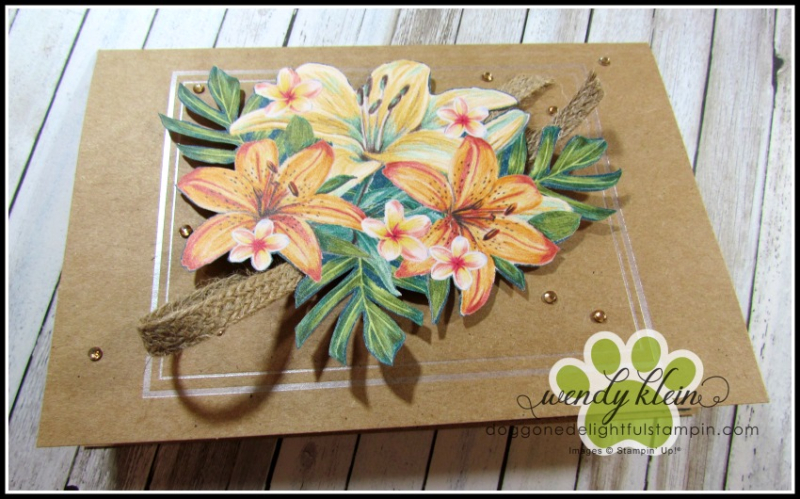 Tropical Oasis Memories & More Cards - 2
