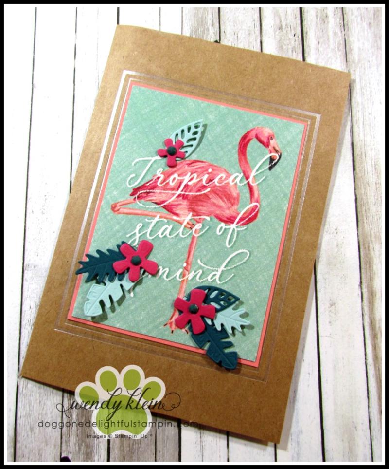Tropical Oasis Memories & More Cards - 6