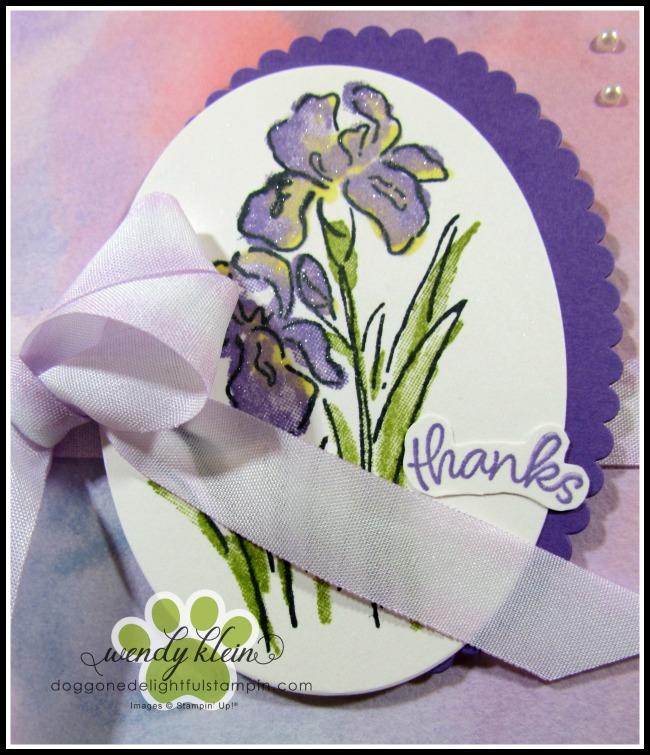 Inspiring Iris Watercolor - 4