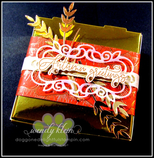 Autumn Greetings Gift Set - 5