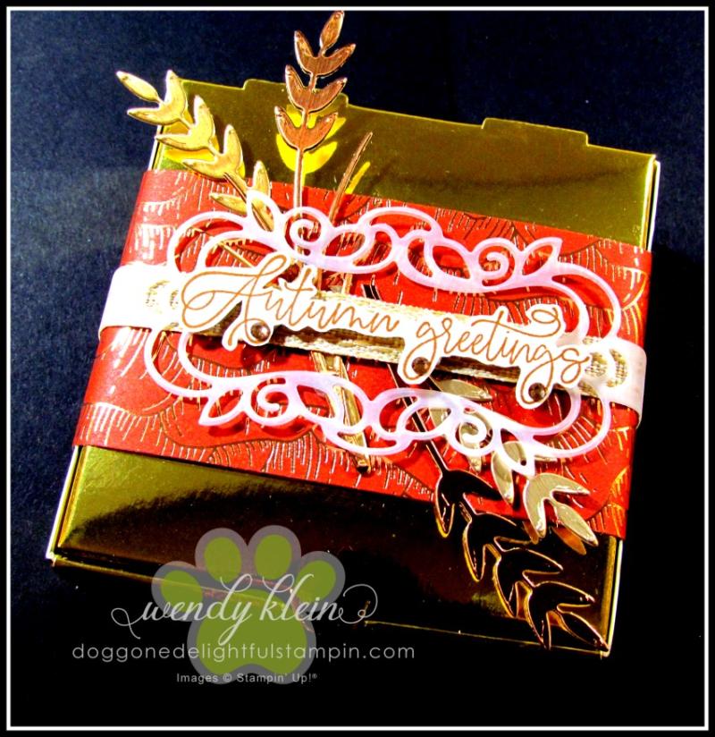 Autumn Greetings Gift Set - 5