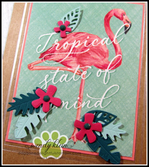 Tropical Oasis Memories & More Cards - 7