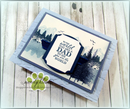 Mountain Air Father's Day card - 5