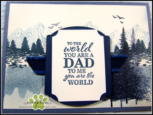 Mountain Air Father's Day card - 3