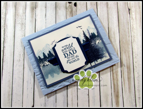 Mountain Air Father's Day card - 1