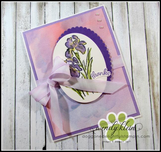 Inspiring Iris Watercolor - 3