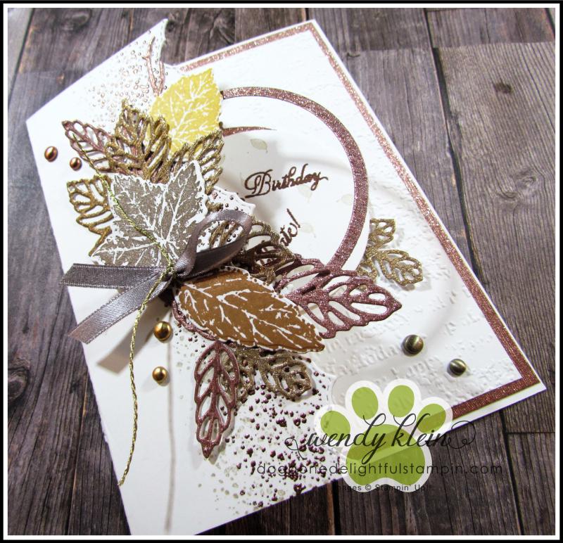Gorgeous Leaves Peekaboo - 6