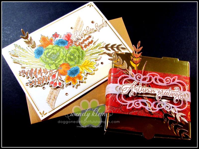 Autumn Greetings Gift Set - 2