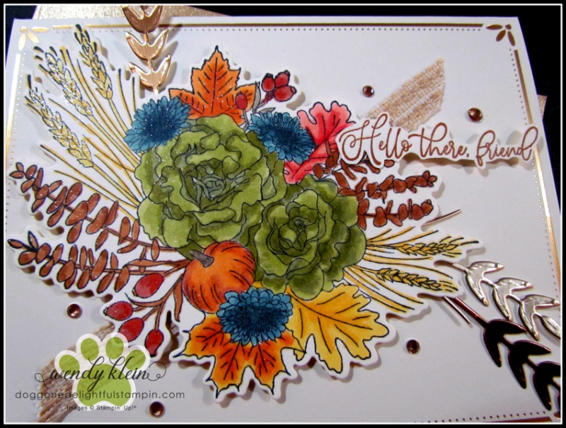 Autumn Greetings Gift Set - 4