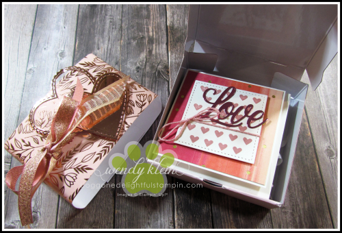 Love You Always Gift Card Box - 4